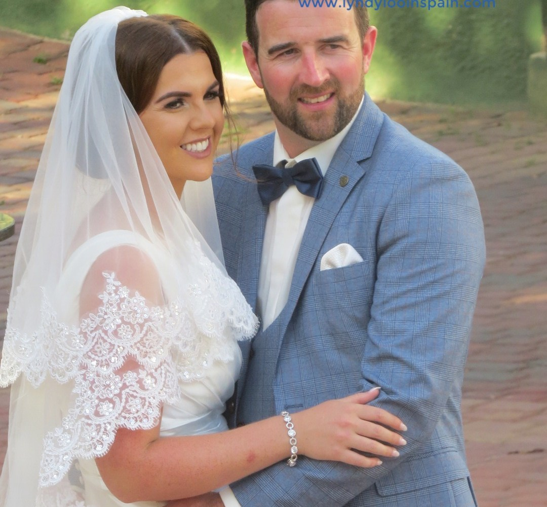 Beautiful Wedding of our Couple from Ireland | Lyndyloo in Spain