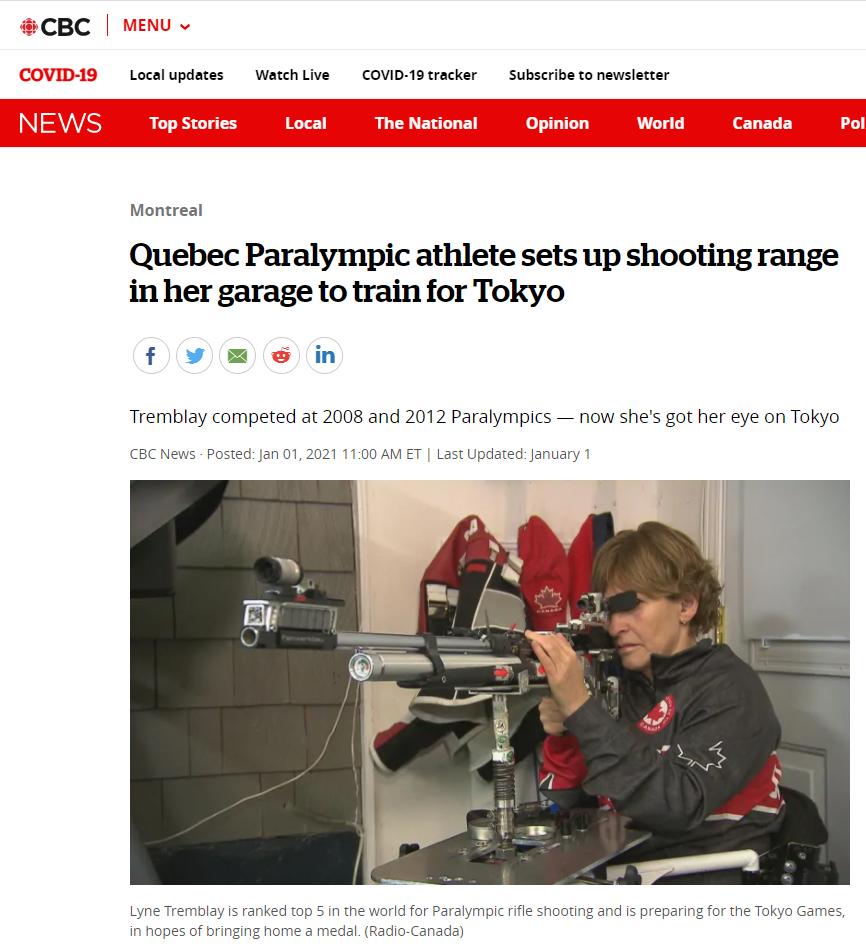 Lyne Tremblay CBC News