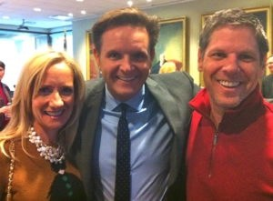 Ron and I with Producer Mark Burnett