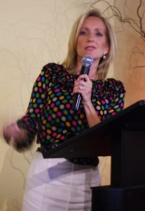 Wearing dots while speaking for SCTNow
