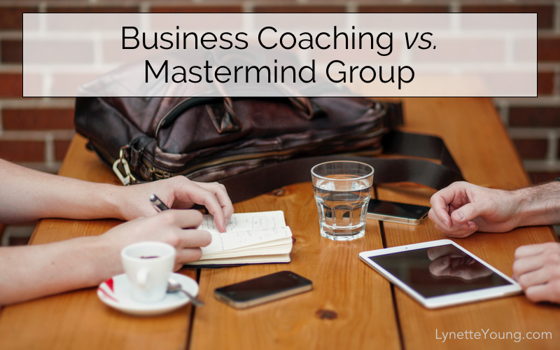 Business Coaching vs. Mastermind Group
