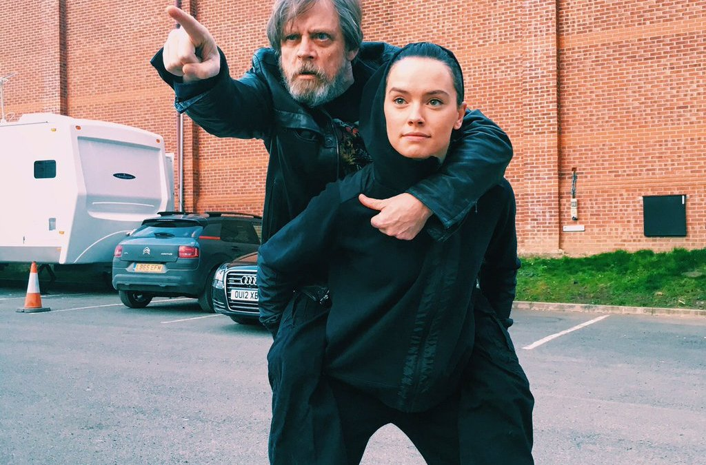 Rey Getting Traditional Jedi Knight Training