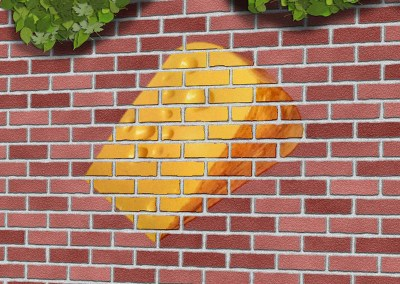 Cheese on a Wall