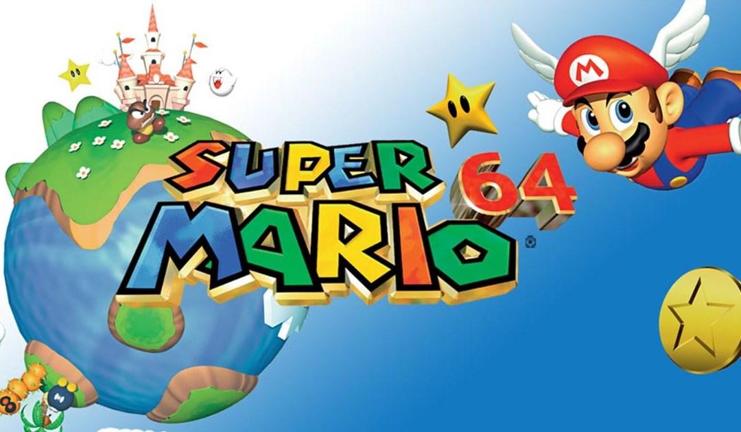 Super Mario 64 (Nintendo 64 – 1996)