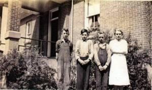 Greenbush School 1942 Entrance Class Mack Digital