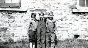 Howard School Students 1929 SF9#14