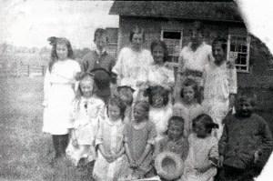 Lillies School 1917 Teacher Mandy Tait SF7#5
