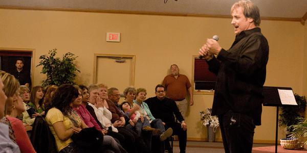 Michael English at Trinity Community Fellowship.