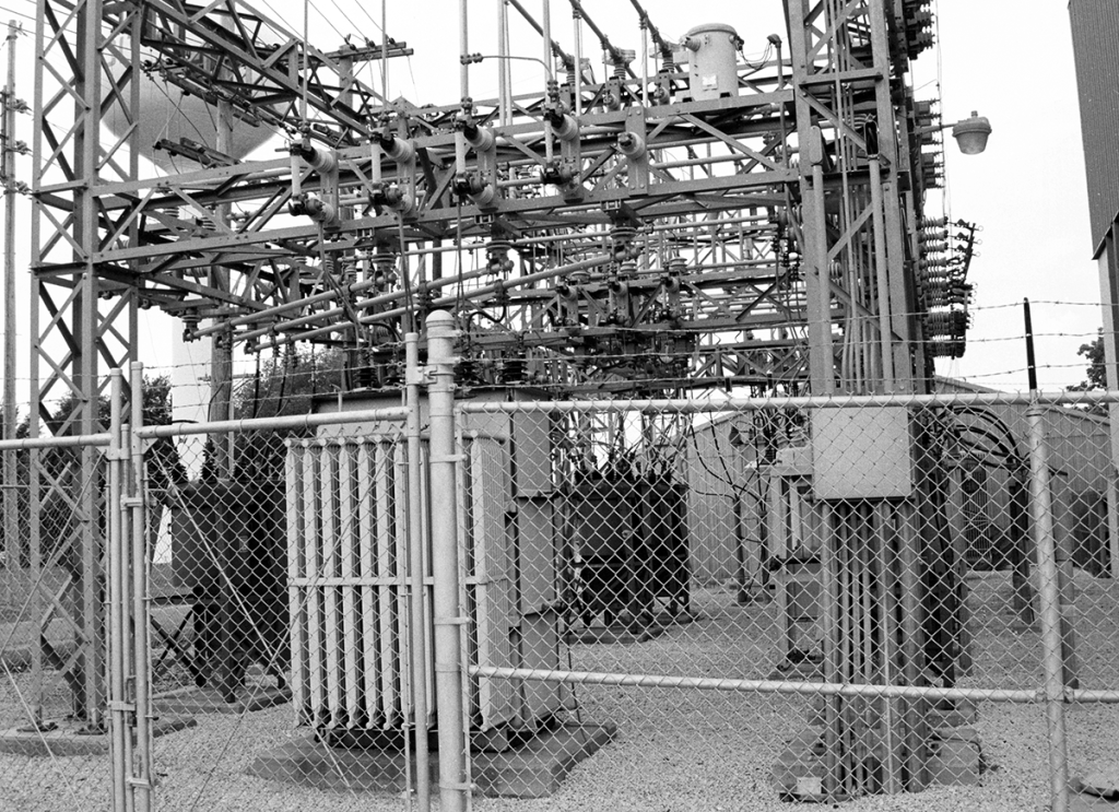 A power substation