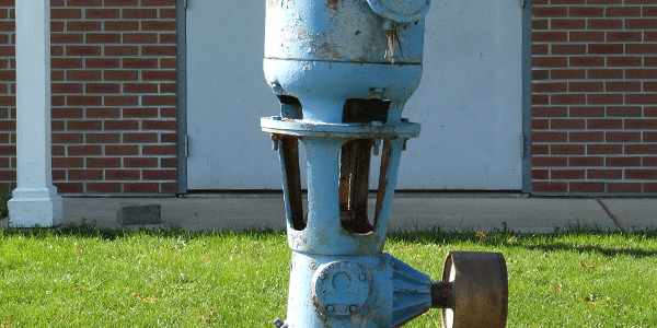 An Old water pump in Downs