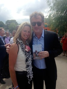 Piers Morgan and Lynne Allbutt