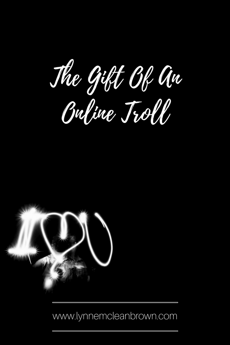 the gift of an online troll