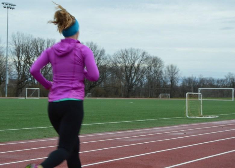 Track Running // lynnepetre.com