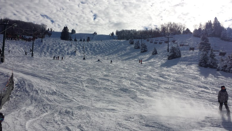 Pennsylvania Skiing: Seven Springs // lynnepetre.com