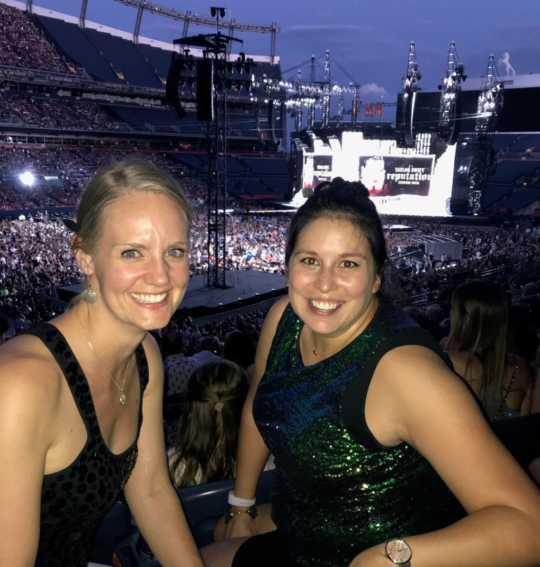 Taylor Swift at Mile High // lynnepetre.com