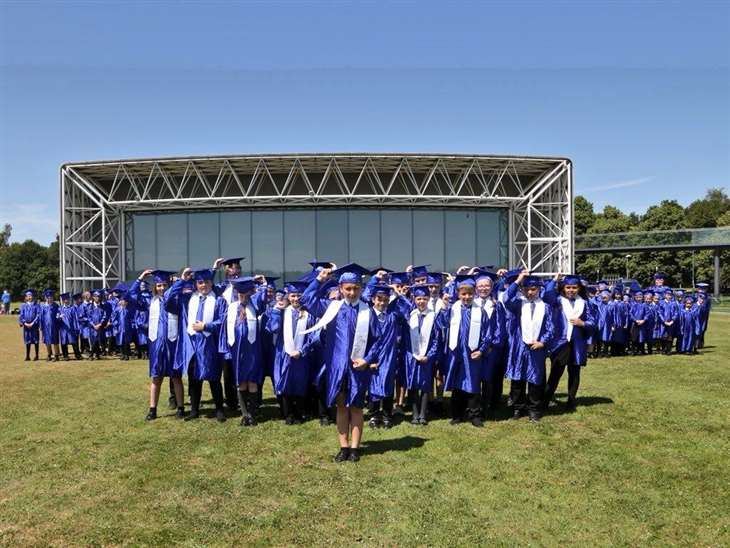 Graduation day for Howard Junior School pupils