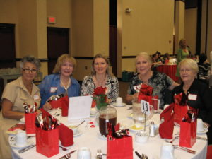 Lynn's table at the Heart of Dixie Luncheon