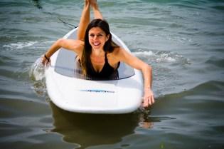 paddleboard happy
