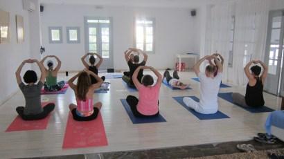 1111GREAT PICTURE yoga room Paros 2014