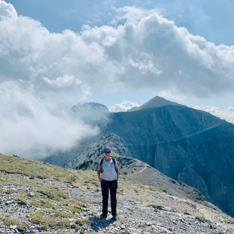 Mt Olympus top Cassie