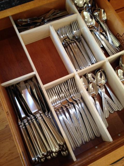 diy kitchen drawer organizer - lynn's kitchen adventures