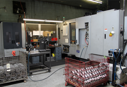 CNC Machining, Moriseiki, NH5000