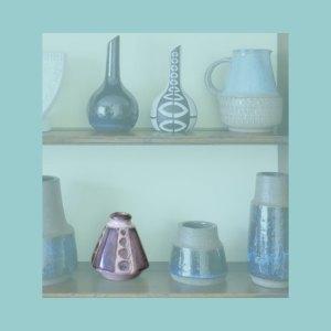 Vintage Danish Vase 6195 Set