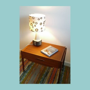 Vintage Scandinavian Table Lamp 6197 Set