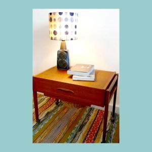 Vintage Scandinavian Table Lamp 1097 Set
