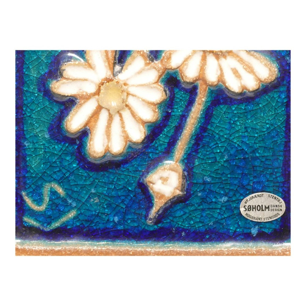Soholm Daisy Garland Wall Plaque 3555 Label
