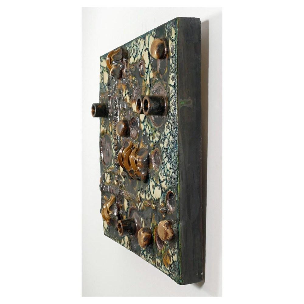 Helmu Schaffenacker Abstract Wall Plaque 598/2 Depth