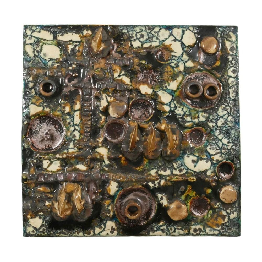 Helmu Schaffenacker Abstract Wall Plaque 598/2 Front