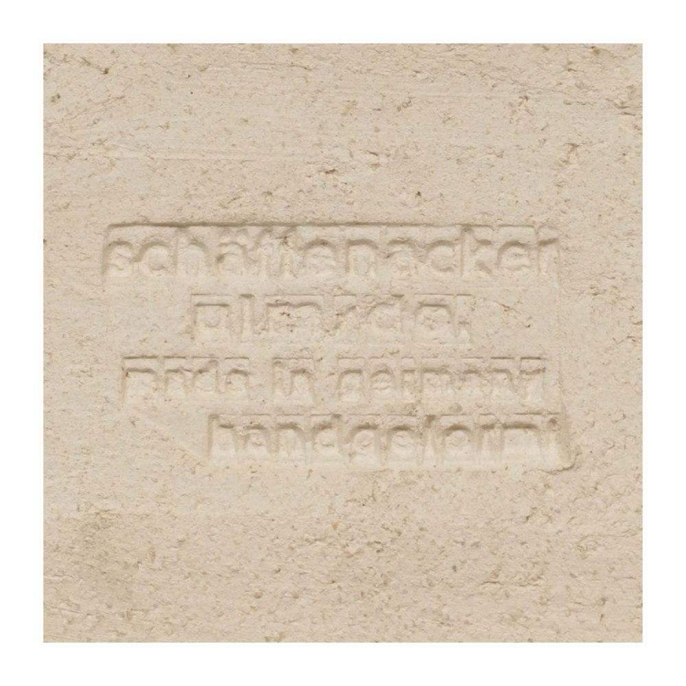 Helmu Schaffenacker Abstract Wall Plaque 598/2 Mark