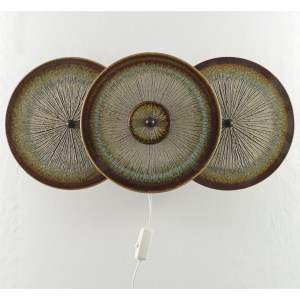 Soholm 3 Disc Wall Light Front