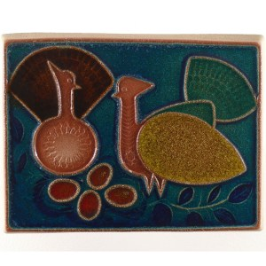Two Birds Plaque Front