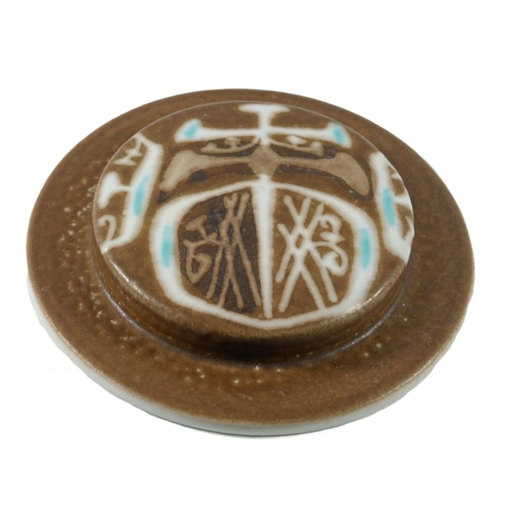 Royal Copenhagen Round Sugar Box Lid 2