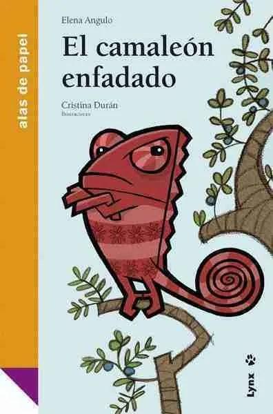 El camaléon enfadado book cover image