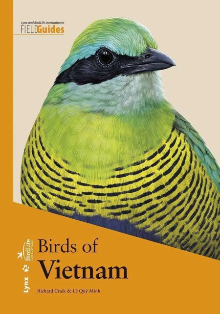 Birds of Vietnam book cover image
