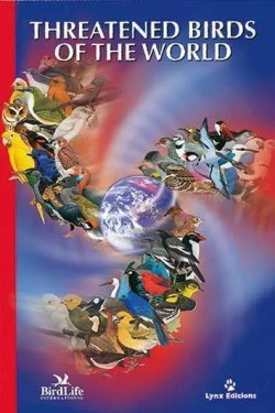 Threatened Birds of the World book cover image