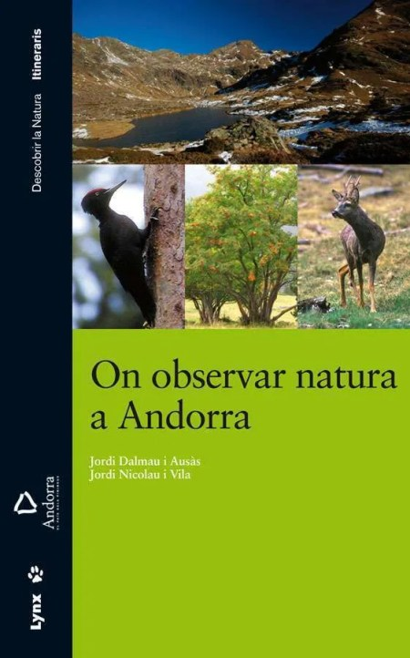 On observar natura a Andorra book cover image