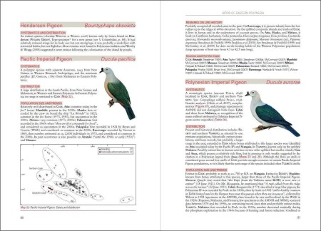 Birds of Eastern Polynesia sample page