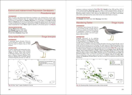 Birds of Eastern Polynesia sample page
