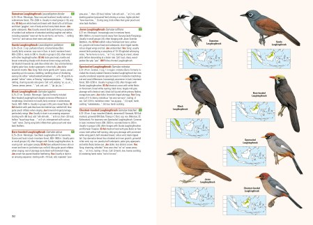 Birds of the Indonesian Archipelago sample page