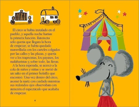 Ratoncita en el circo sample page