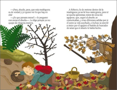 Los tesoros del bosque sample page