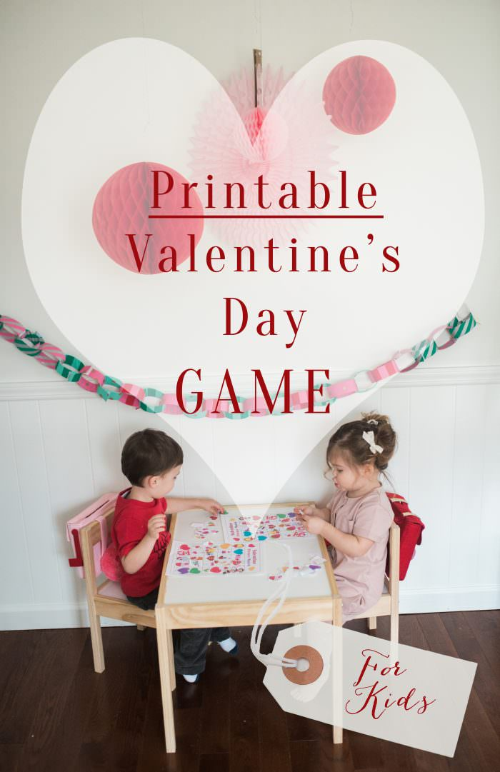 Printable Valentines Day Games Amp Marshmallow Treats