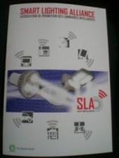 plaquette SLA éclairage