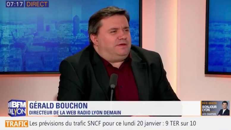 Gérald Bouchon dans Bonjour Lyon sur BFM Lyon