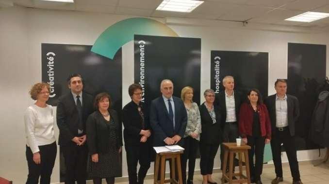 Georges Képénékian présente ses têtes de listes pour les municipales de 2020