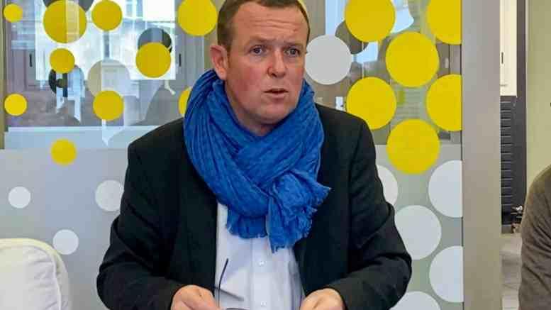 Cédric Van Styvendael présente son programme pour les municipales 2020 à Villeurbanne